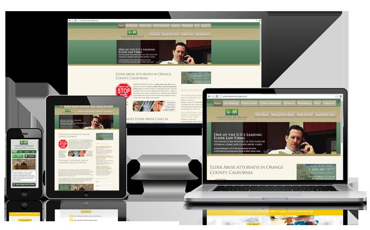 long beach responsive website design